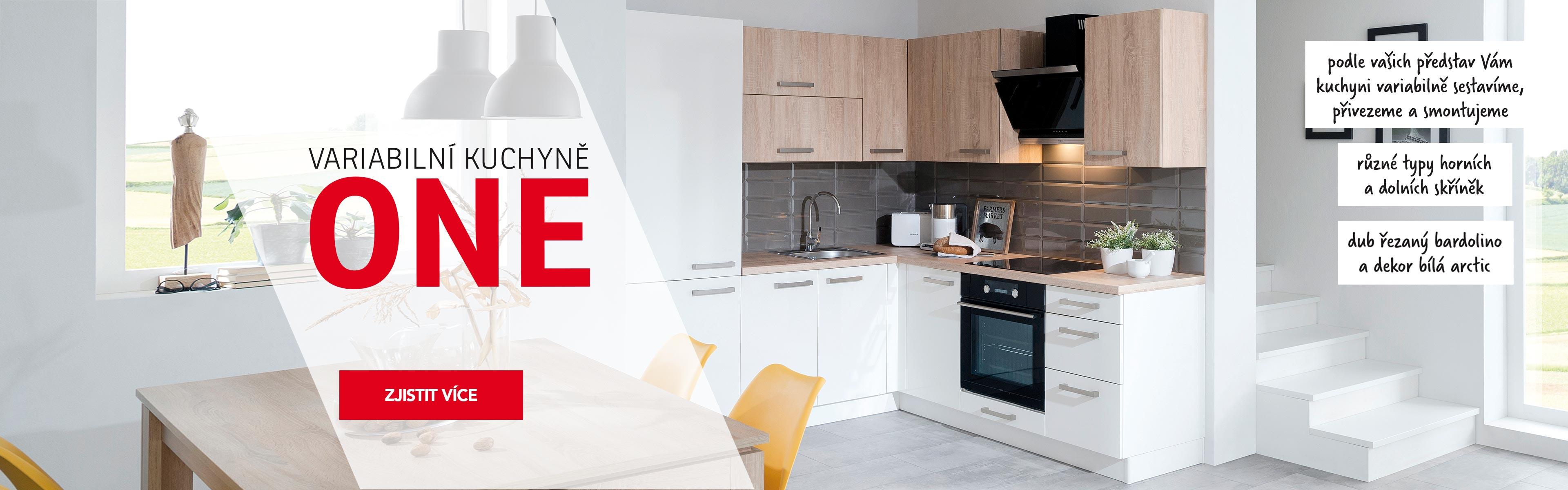 Kuchyně řada Sline 2021