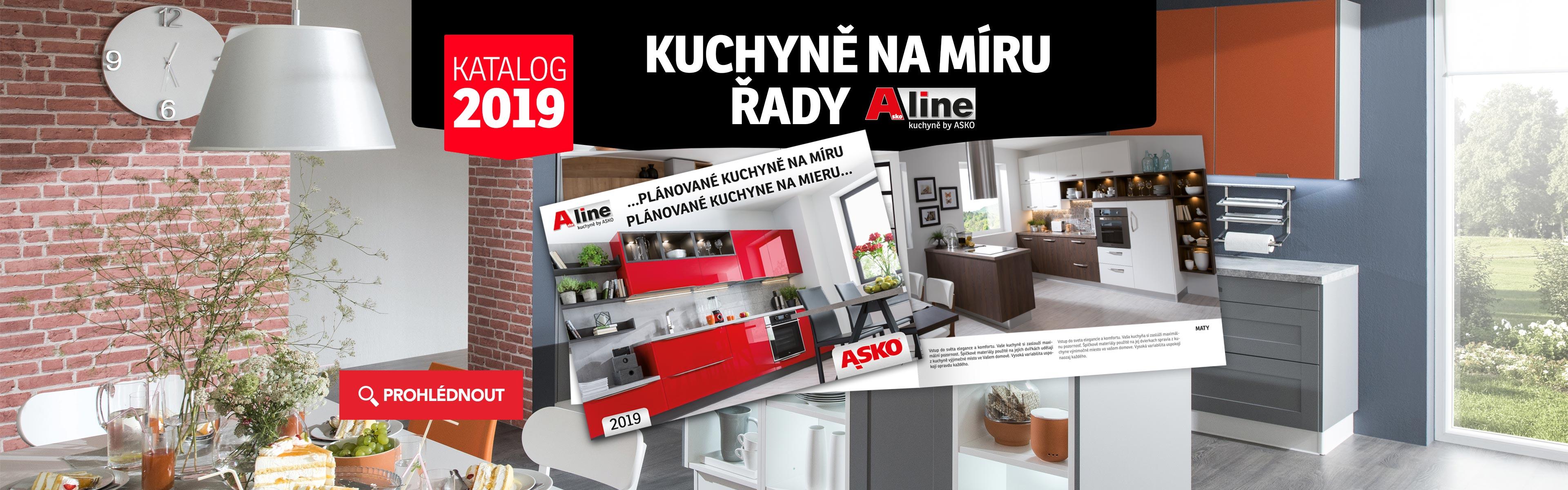 Kuchynè KATALOG A-LINE 2019