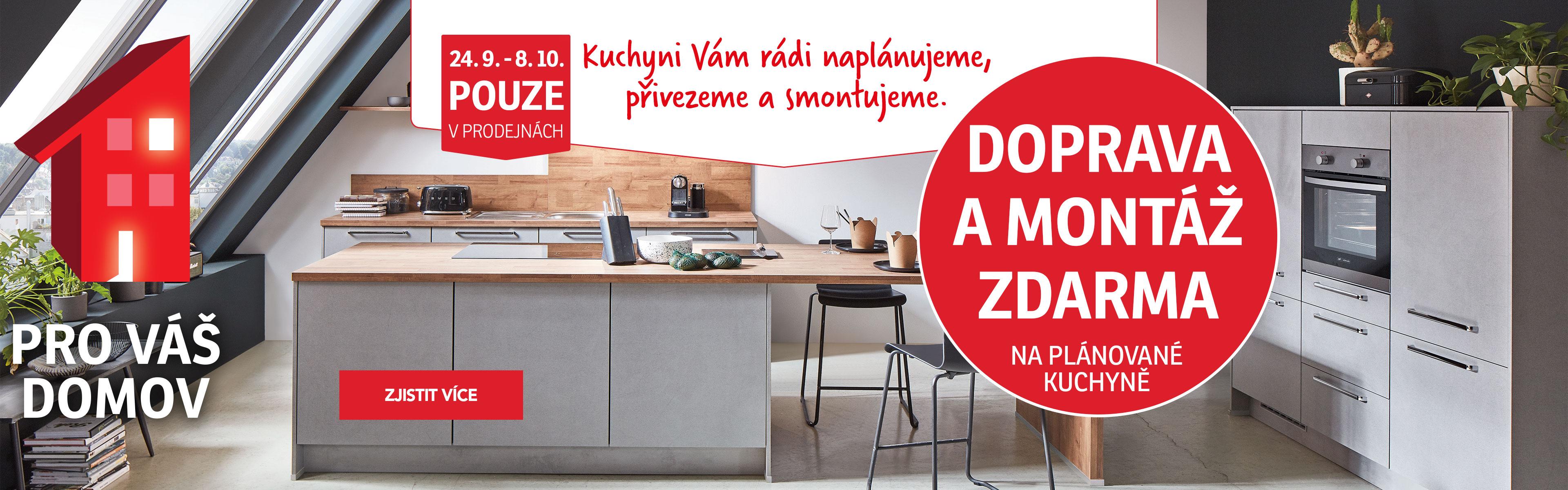 Kuchyně-doprava a montáž zdarma 24-8-10-2020
